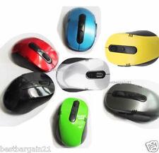 Ratón Inalámbrico sin Cable Óptico De Color 2.4GHz Pc Computadora Laptop Con Usb Dongle