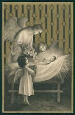 Christmas Angel Relief serie 7041 postcard TC2984