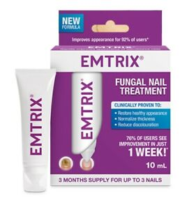 Emtrix Triple Action Anti-Fungal Fungal Nail Treatment 10ml