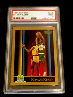 Shawn Kemp 1990 Skybox Rookie Card PSA 9 MINT #268 Fresh Slab
