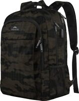 "Matein Men's Camo 15.6"" Anti-Theft Travel Laptop Backpack School Bag USB Port"