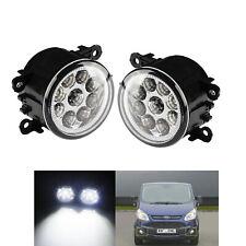 12W LED Daytime Running Driving DRL Fog Lights For Ford Transit MK7 MK8 C-Max