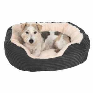 Dog Pet Calming Bed Beds Large Mat Comfy Washable Fluffy Cushion Plush Puppy Cat