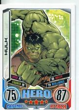 Marvel Hero Attax Series 2 Base Card #75 Hulk