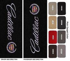 Lloyd Mats Cadillac Sideways Logo Classic Loop Front Floor Mats (2002-2014)