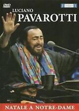 Luciano Pavarotti. Natale A Notre Dame  DVD NUOVO Sigillato OFFERTA!!!