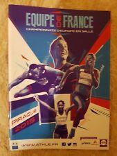 2015 Francia campeonatos europeos de atletismo de interior equipo medios guía: atletismo