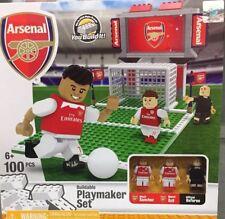 Arsenal Fc Buildable Playmaker Set Alexis Sánchez  Mesul Ozil Lego Oyo 100pcs