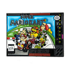 "Super Mario Kart SNES Cover Art 1.25"" Enamel Pin by Phantom Pins"