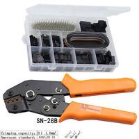 Crimping Tool Plier Set Multitool Terminal Ferrule Crimper Dupont Clamp Hand Kit