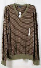 Gap Mens Striped Lightweight Long Sleeve Sweater V-Neck NWT Sz XXL