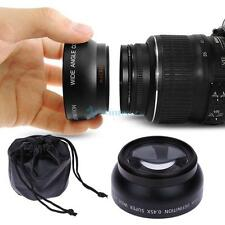 Wide Angle Macro Fisheye Camera Lens for Sony Pentax Canon Nikon Camera 52mm