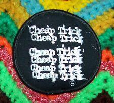 CHEAP TRICK 1978 Original  HEAVEN TONIGHT TOUR PATCH Black & White vintage