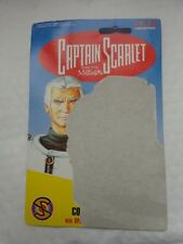 1993 VIVID IMAGINATIONS CAPTAIN SCARLET - COLONEL WHITE FIGURE BACKING CARD