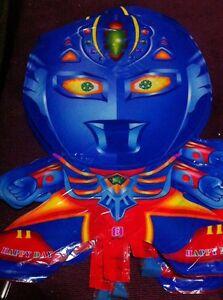Blue Ultra Superhero Man Balloon Party/birthday/kid Toy Gift Decoration