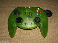 Controlador Gamepad ORIGINAL MICROSOFT XBOX Juego de Alimentación Control Pad en verde claro