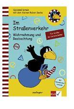 Im StraÃ?enverkehr - Wahrnehmung und Beobachtung - Spielend lernen mit dem kleinen Raben Socke von Nele Moost (2007, Taschenbuch)