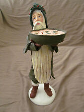 "Duncan Royale 12"" Santa Claus Wassail Figurine w/Original Box & Packaging Euc"