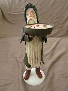"Duncan Royale 12"" Santa Claus Wassail Figurine w/Original Box & Packaging EUC"