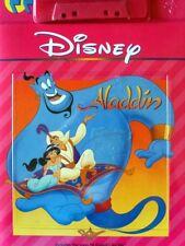 ALADDIN Disney Read Along Book & Cassette Tape Set New Mint SEALED