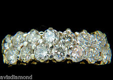 18KT 1.50ct IDEAL CUT DIAMONDS BAND G/VS PETITE PRIME+