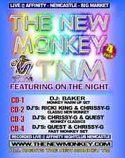 THE NEW MONKEY AFFINITY NEWCASTLE DJS