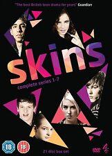 Skins Series 1 2 3 4 5 6 & 7 DVD Box Set New Sealed