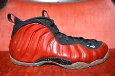 Nike Air Foamposite One Metallic Red Size 11 314996 610 Basketball CLEAN
