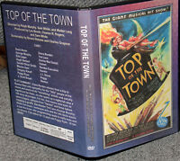 TOP OF THE TOWN DVD Doris Nolan George Murphy Ella Logan Hugh Herbert 1937