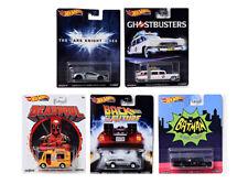 Hot Wheels 1:64 Retro Entertainment Set of 5 Batmobile ECTO Deadpool Ghostbuster