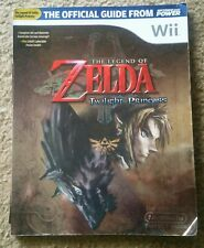 Legend of ZELDA Twilight Princess STRATEGY GUIDE Official Nintendo Power Wii