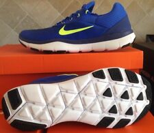 mens nike free trainer Shoes v7 Size 10 Racer Blue/ Volt new with box $100.00