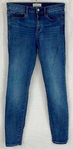 GAP Womens Blue True Skinny Denim Party Jeans MEDIUM