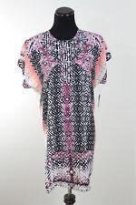 NWT ZoZo woman Scroll Print Multi-Color Tunic sz XL $148 Dillard's