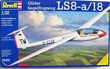Revell - Ls8-a/18 - Glider/Segelflugzeug. Scale: 1/32