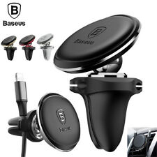 Baseus Universal Phone Air Vent Holder Car Magnetic Mount Stand Wire Holder Dock