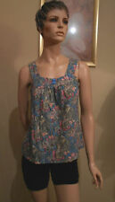 Sussan Floral Sleeveless Tops & Blouses for Women