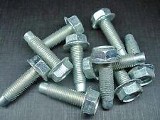 "12 pcs 5/16-24 x 1-1/8""  cadmium serrated flange head fender bolts NOS Ford"