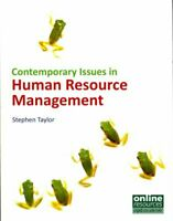 Contemporary Issues in Human Resource Management by Stephen Taylor 9781843980582