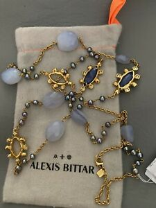New Alexis Bittar mixed stone long necklace $295.00
