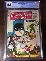 Detective Comics #215 (1955) - 1st Batmen of All Nations!!! Batman! - CGC 2.5