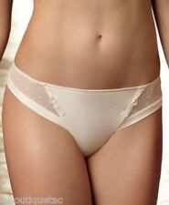 LISE CHARMEL Panties Model Fashion Shine Color Ecru