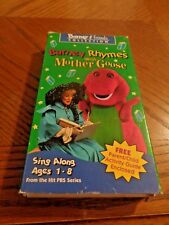 VHS TAPES - BARNEY & AND FRIENDS COLLECTION - BARNEY RHYMES WITH MOTHER GOOSE