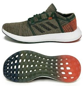 Adidas Men Pure-boost GO Shoes Running Khaki Casual Sneakers GYM Shoe D97421