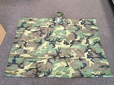 Woodland Poncho Rip stop  Army Type   New In the Bag