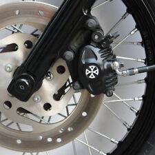 Bremssattel Cover 3D Harley Davidson Sportster Modelle Typ 2 / Kreuz Weiß