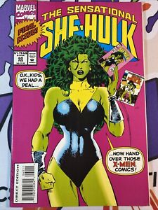 Sensational She Hulk 60 2nd Series Final Issue Hand Over Those X-Men Comics VFNM