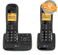 BT XD56 Home Twin Answer Machine Cordless Phones Nuisance Call Blocker in Black