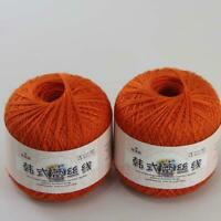 AIP Thread No.8 Cotton Crochet Yarn Craft Tatting Hand Knit Embroidery 50grX2 23