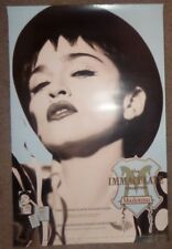 MADONNA THE IMMACULATE COLLECTION 35X23 STORE PROMO POSTER HERB RITTS VOGUE